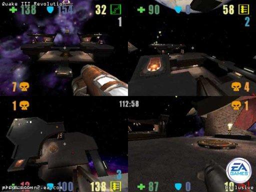 Quake 3: Revolution - game screenshots at Riot Pixels, images