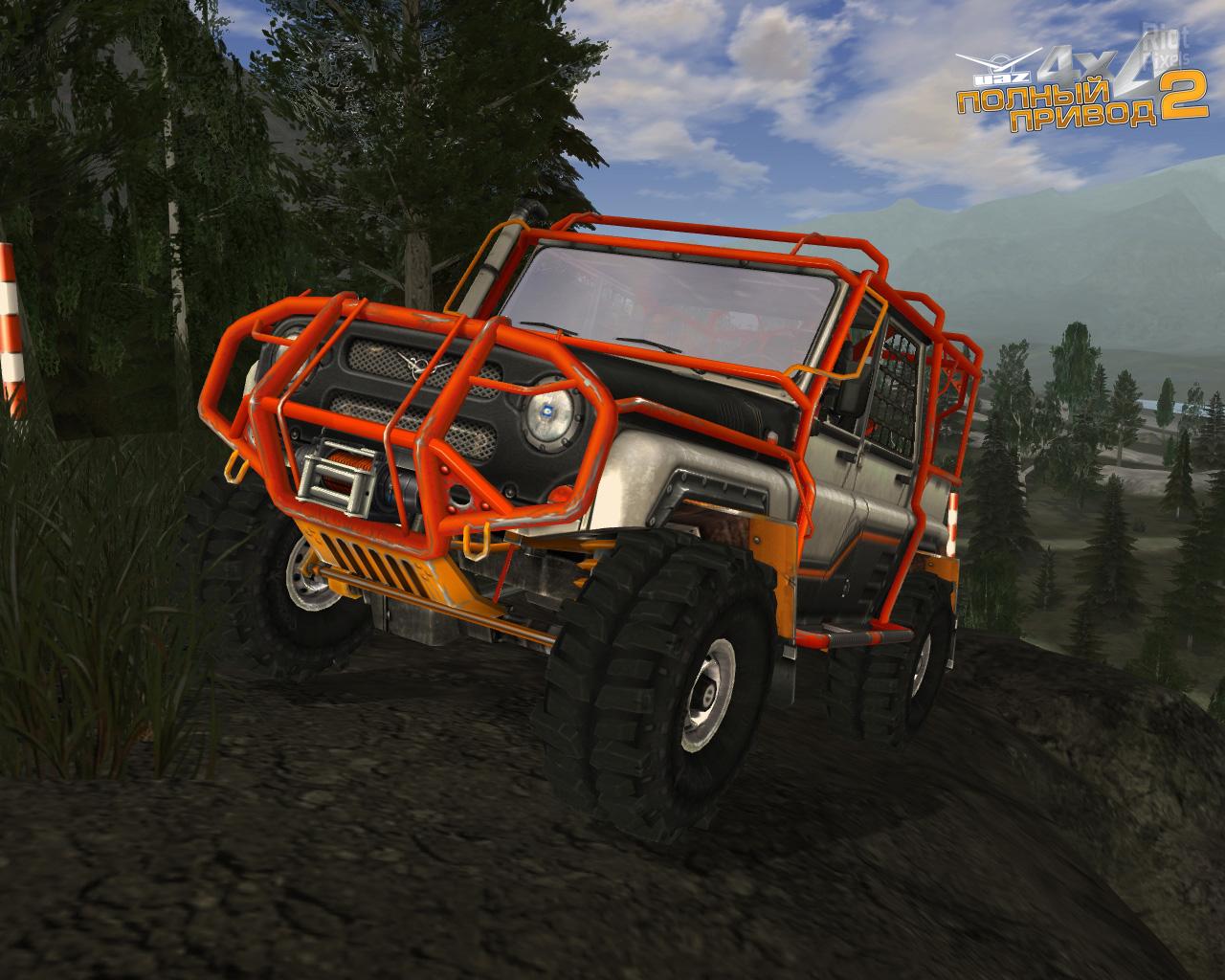Скриншоты uaz racing 4x4