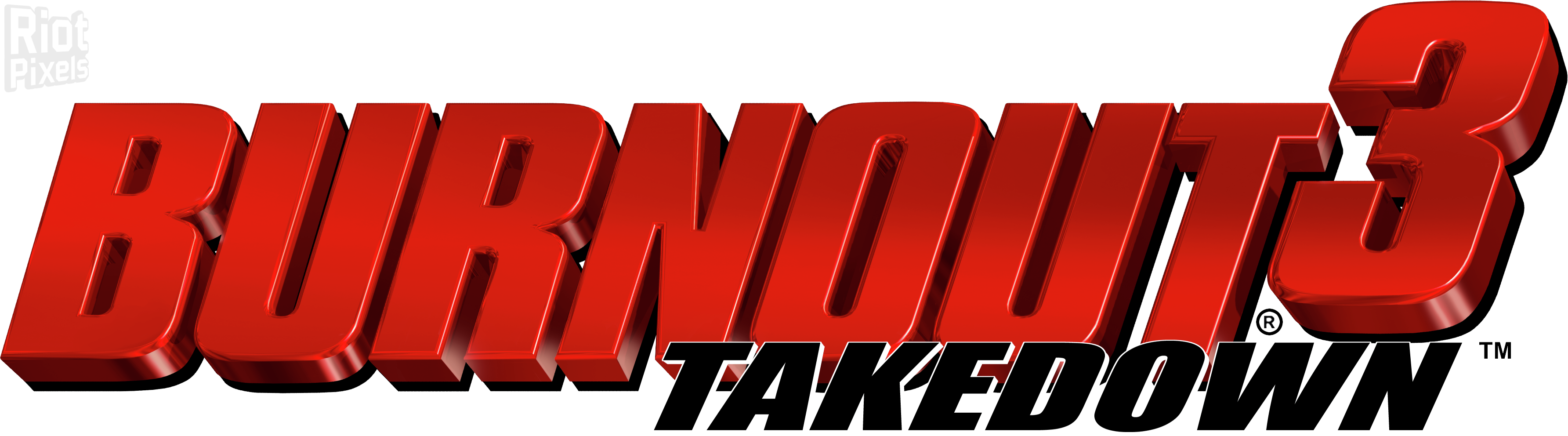Burnout 3: Takedown - game artworks at Riot Pixels