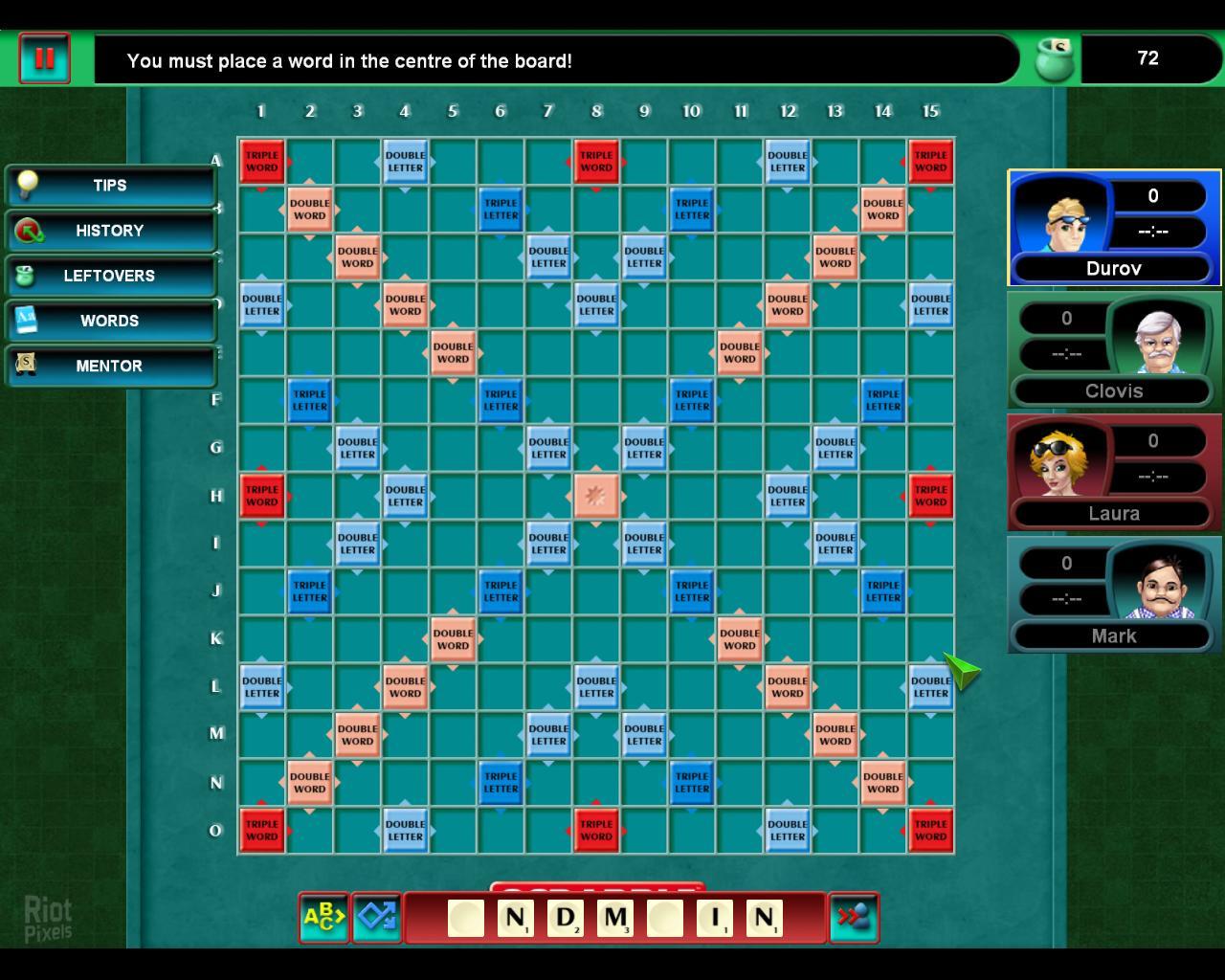 скрабл игра онлайн