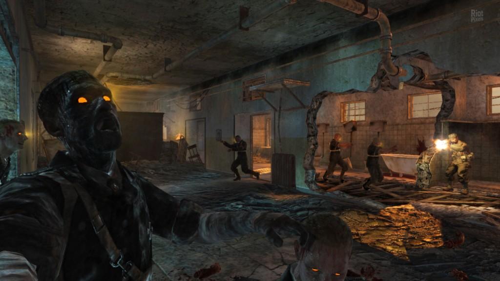 Все 4 существующие карты нази зомби Call of Duty: World at War будут вклю..
