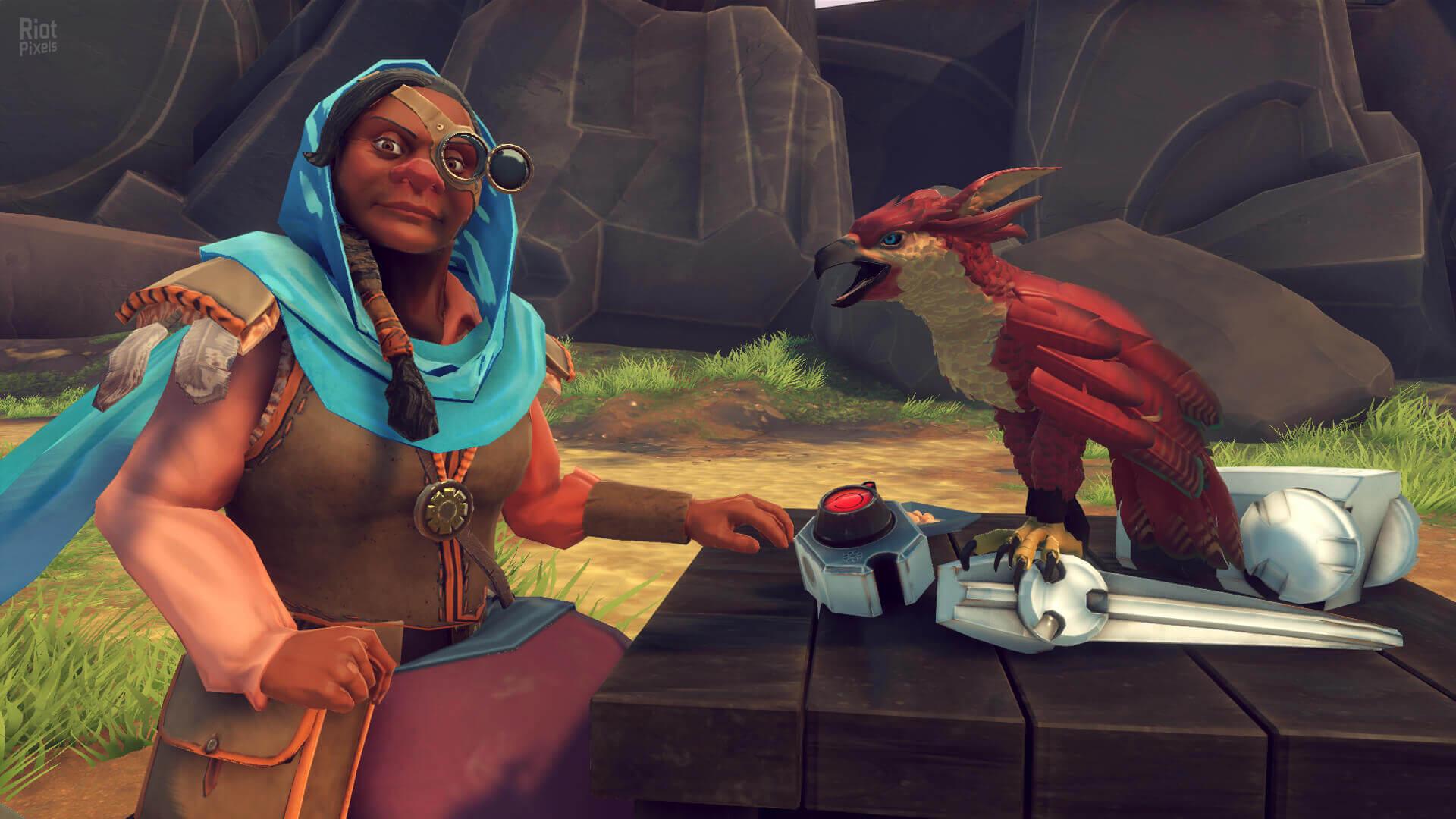 Falcon Age - game screenshots at Riot Pixels, images