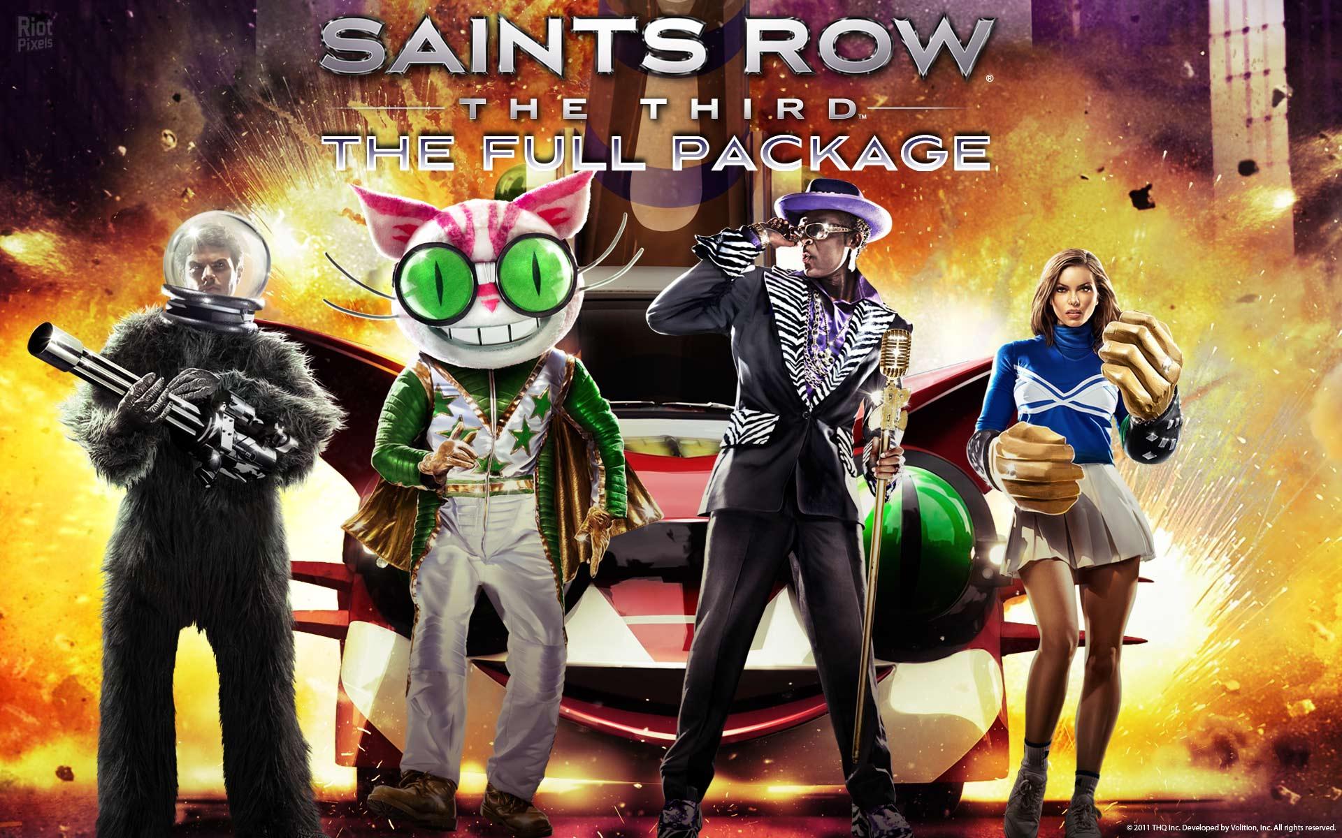 Saints Row The Third Game Wallpaper At Riot Pixels Image