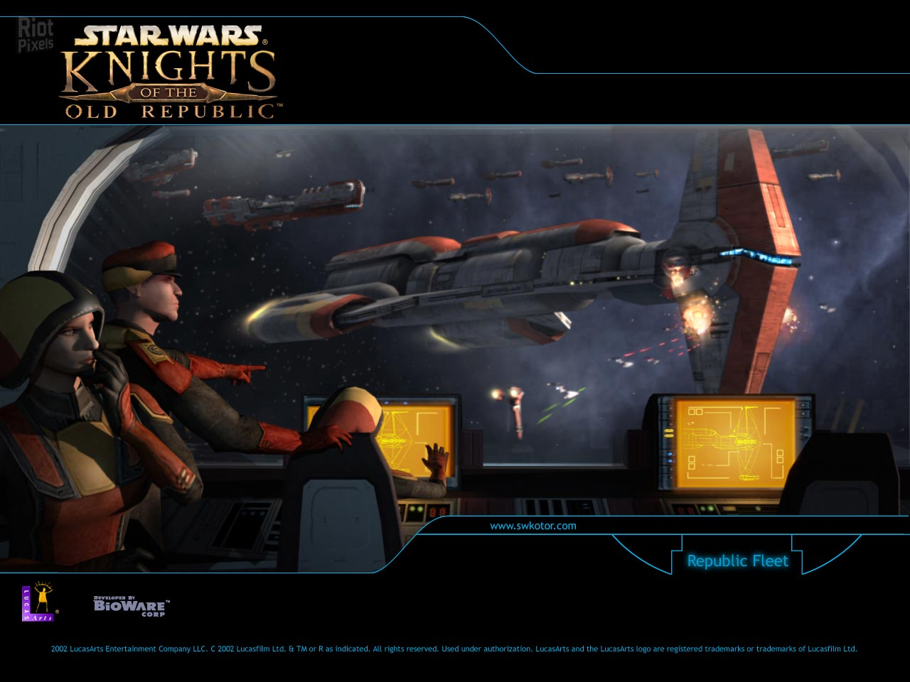 Star Wars Knights Of The Old Republic Game Wallpapers At Riot