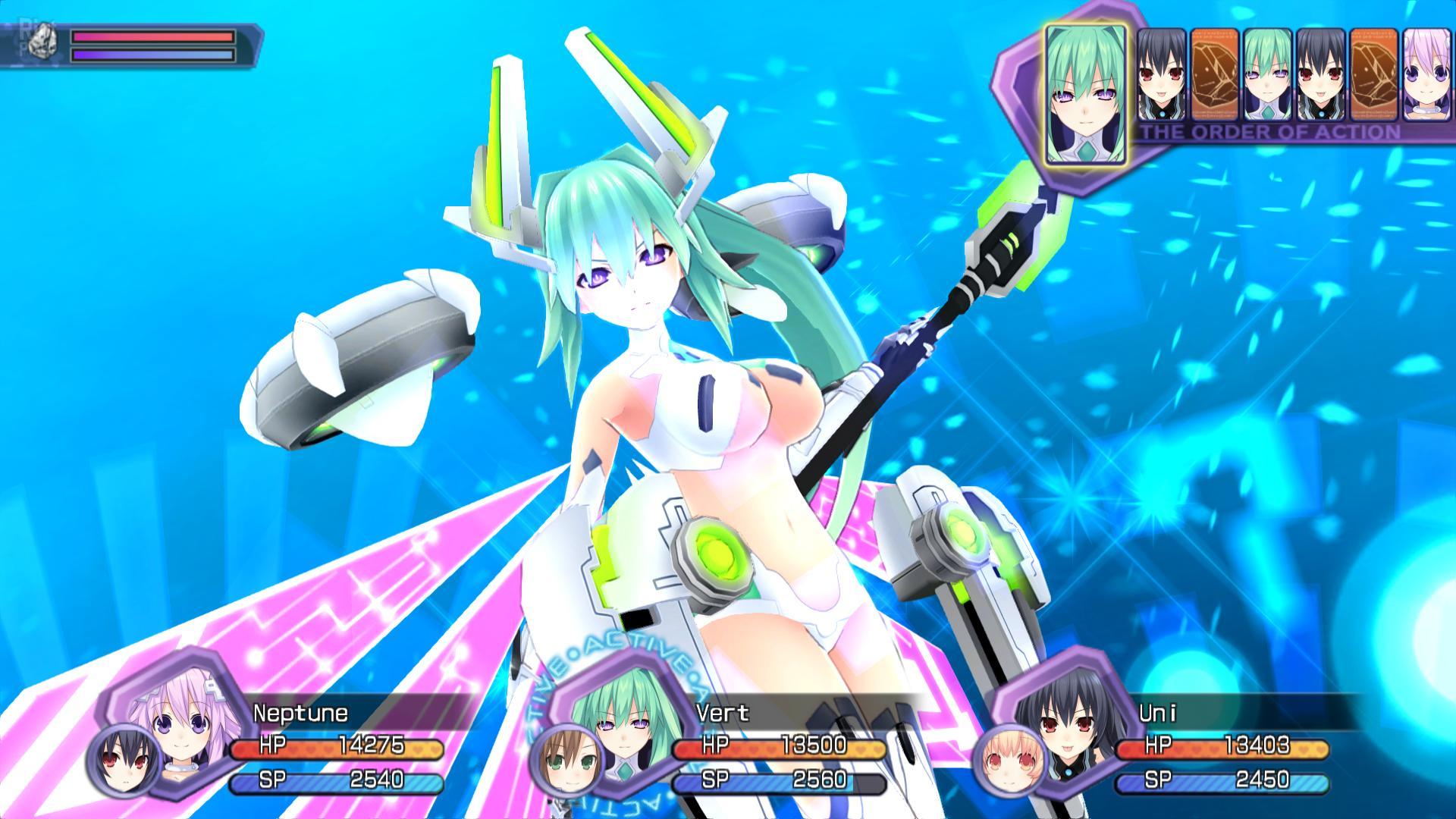 Hyperdimension Neptunia Re Birth 1 Game Screenshots At Riot
