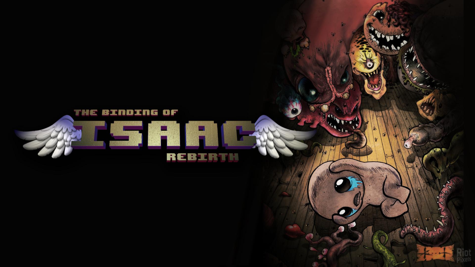 Binding Of Isaac Rebirth The Game Wallpaper At Riot Pixels Image
