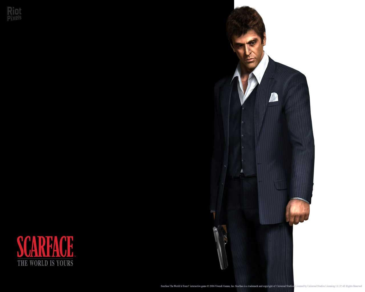 Scarface The World Is Yours Game Wallpapers At Riot Pixels Images