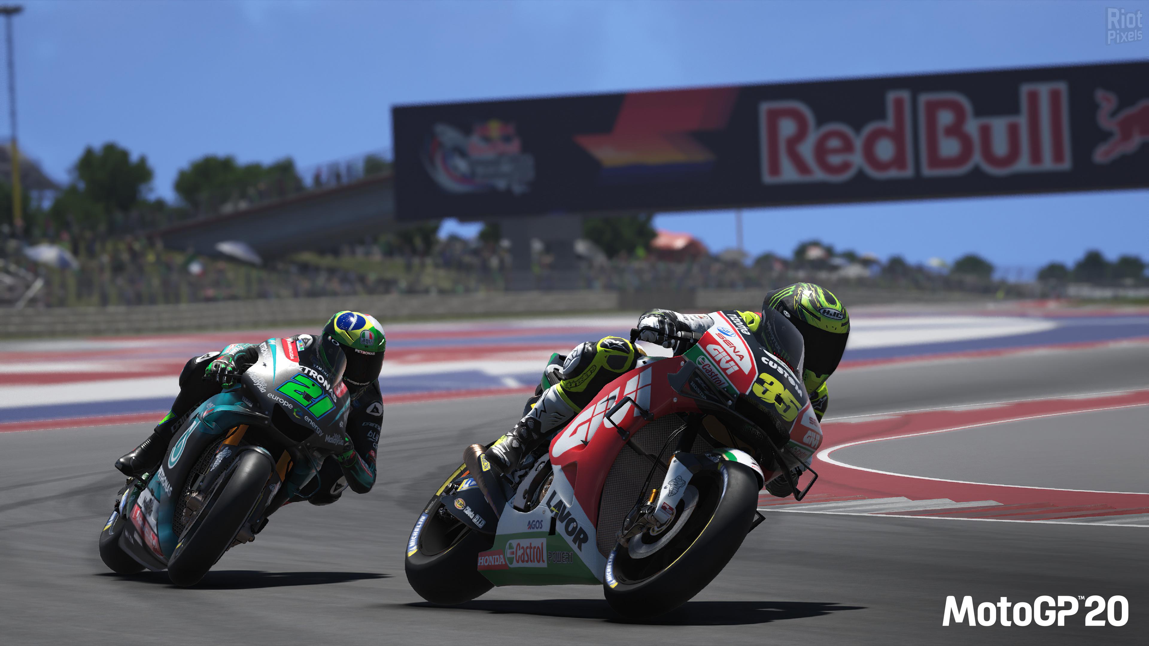 MotoGP 20 - game screenshots at Riot Pixels, images