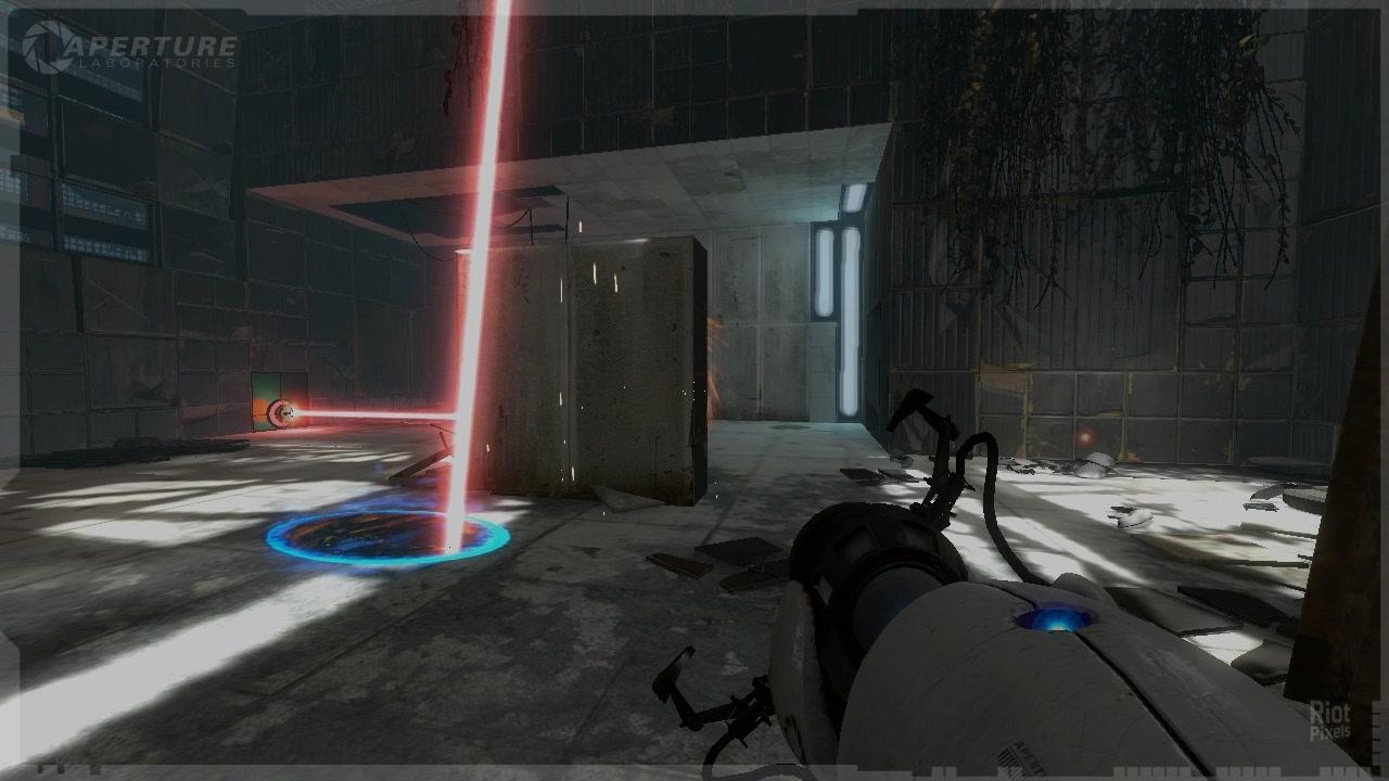 Portal 2 - game screenshots at Riot Pixels, images