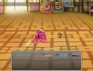 Exatron Quest 2 - game screenshots at Riot Pixels, images